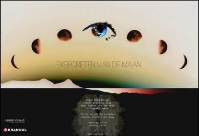 Exsecreten van de Maan -  Ulyssesfestival Literair Theater Branoul, Den Haag.